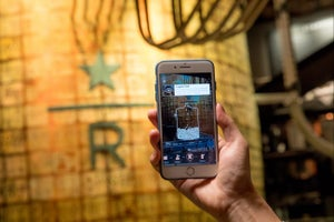 The World's Biggest Starbucks Has Augmented Reality