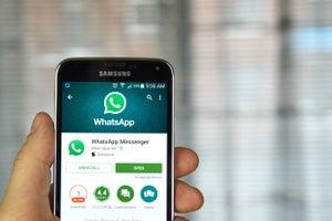 Ahora los SMS ser谩n mensajes WhatsApps con la actualizaci贸n de Google