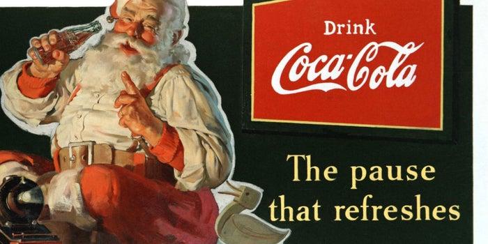 Así nació Santa Claus como un ícono de la publicidad navideña