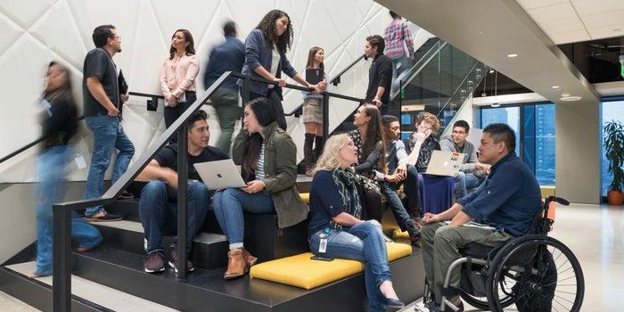 Take a Step Inside LinkedIn's Office Space