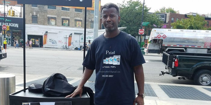 When This Ticket Scalper Couldn't Find Work, He Made His Own Ticket Business