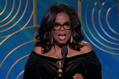 Get Inspired by Oprah Winfrey's Standing Ovation-Worthy Golden Globes...