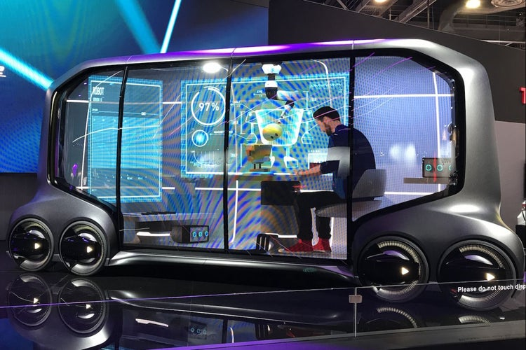 Check Out The Coolest Cars And Concept Vehicles At Ces 2018