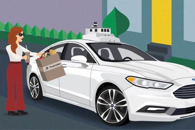 Order Postmates? It Might Arrive Via an Autonomous Ford.