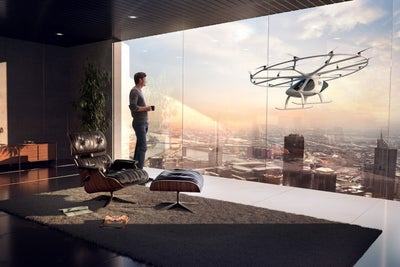 This Flying Vehicle Could One Day Be Your Uber