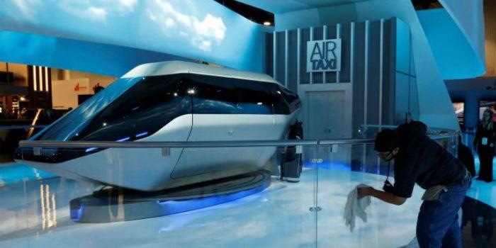 Este es el vehículo que usará Uber para viajar por el aire