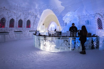 Check Out This Amazing 'Game of Thrones' Themed Ice Hotel That's Fit f...