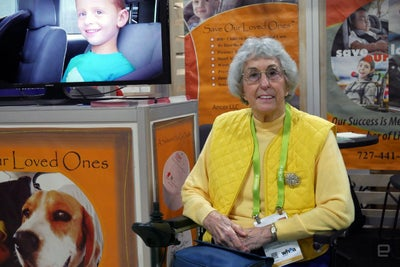 An 82-Year-Old Entrepreneur Makes Her First Appearance at CES -- and I...