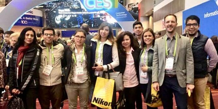 Los emprendedores mexicanos en el CES 2018
