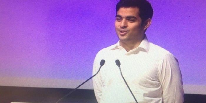 Here's What Heir to India's Richest Man Said at His Maiden Speech