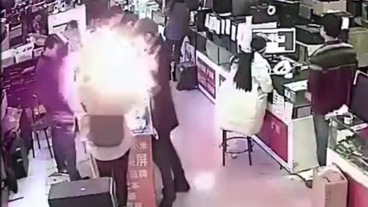 This Man Bit Into an iPhone Battery, and It Exploded