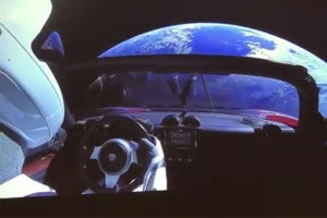 Elon Musk's Roadster Is Heading for the Asteroid Belt