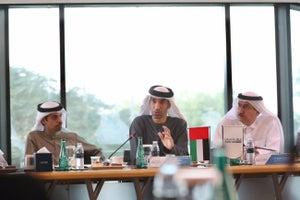 Six UAE Startups Interact With UAE Minister H.E. Dr. Thani Al Zeyoudi At Dubai Startup Hub Majlis