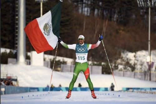 El mexicano que llegó feliz al último lugar