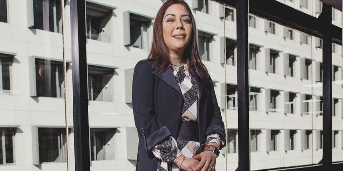 Ella es la anfitriona y guía de los extranjeros en México
