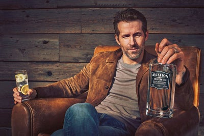 Ryan Reynolds Just Bought a Gin Company He Called 'the Best on the Pla...