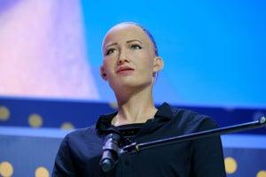 Ella es Sophia, la robot que dará conferencia en Talent Land México