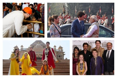 Canadian PM Justin Trudeau is Getting the Welcome of his Life in India
