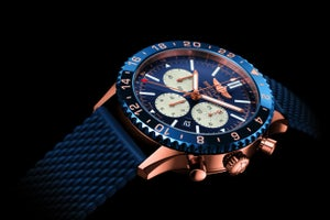 The Executive Selection: Breitling Chronoliner B04