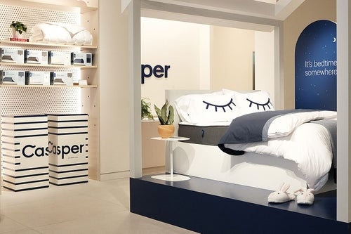 Casper Opens First Permanent Store