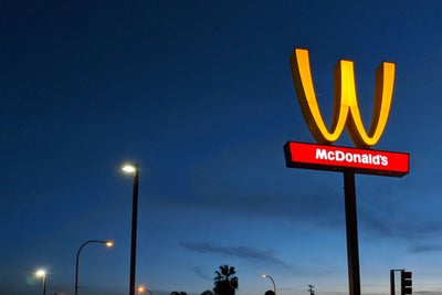 McDonald's Is Flipping its Iconic Arches Upside Down in an Unprecedent...