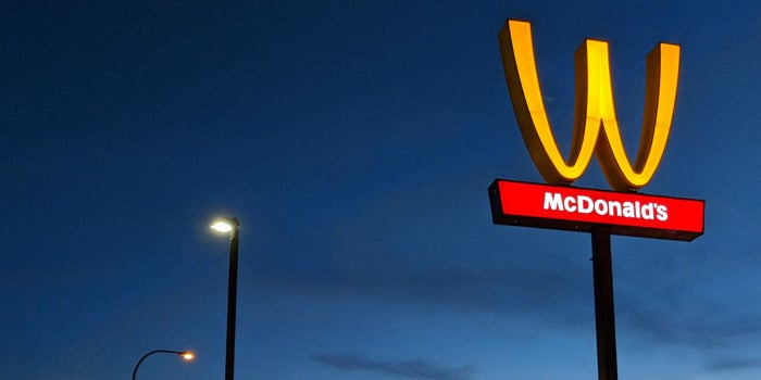 McDonald's Is Flipping its Iconic Arches Upside Down in an ...