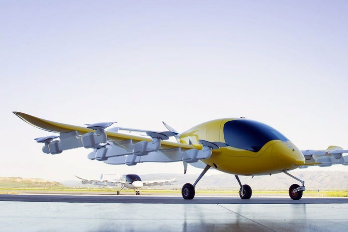 Картинки по запросу Air taxi Cora by Co-founder of Google Larry Page
