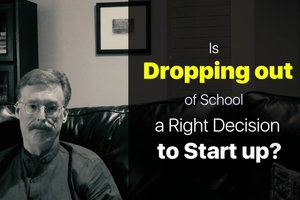 This Career Expert Says 'NO' to Dropping Out of School to Become Entrepreneurs