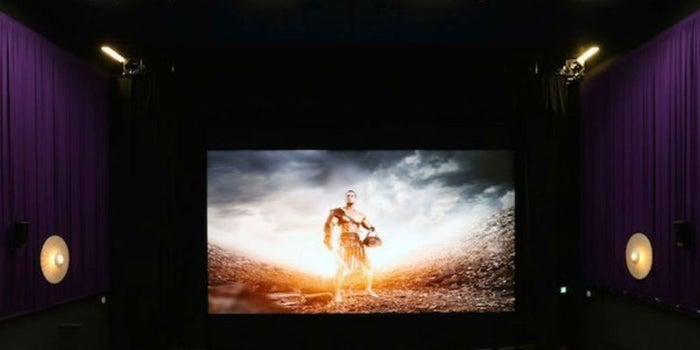 Europa estrena la primera sala de cine con pantalla LED
