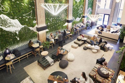 Take a Look at This Cosmic Coworking Space That Was Inspired By a Hall...