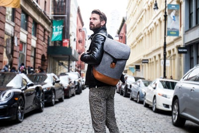To Keep His Kickstarter Backers Happy, This Entrepreneur Is Wearing Le...
