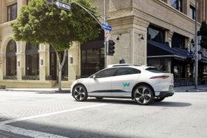 Waymo Partners With Jaguar on Self-Driving Cars