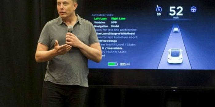 El piloto automático de Tesla estuvo involucrado en un accidente fatal