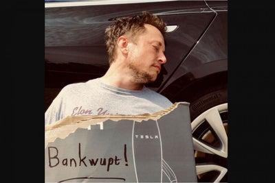 ¿Tesla se declara en bancarrota?