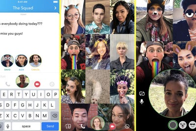 Snapchat Introduces a Group Video Call Feature