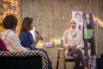 Migrant Women Entrepreneurs Showcase Their Business Ideas At Cairo's W...