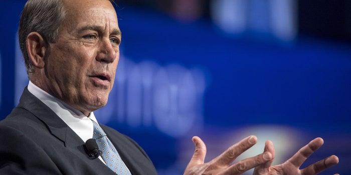 John Boehner Succeeded in Politics Opposing Marijuana but in Retirement Has Joined the Medical Marijuana Industry