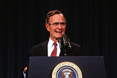 12 Honest and Hopeful Quotes From Former U.S. President George H. W. Bush