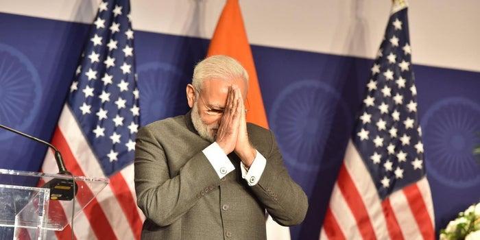 PM Modi Trumps US President on Facebook