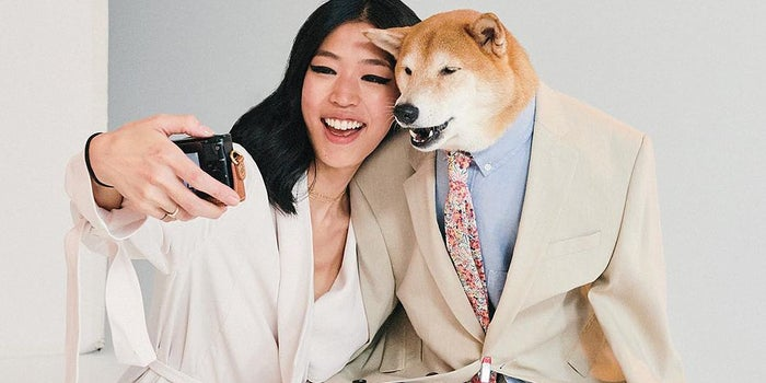 This Famous Dog Is a Posh Style Icon -- and He Probably Makes More Money Than You