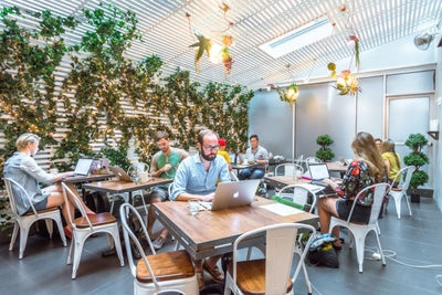 Meet This Company That Turns Restaurants Into Coworking Spaces