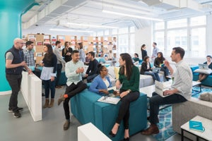 Check Out TheSkimm's New Playful Headquarters, Designed By Its Employees