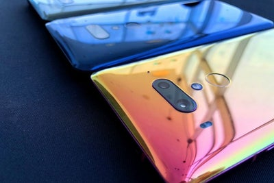 HTC's Newest Phone is See-Through, Squeezable and Has Some of the Most...
