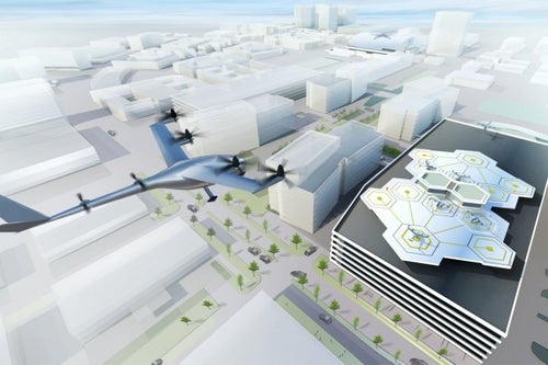 Uber Is Building a Flying Taxi Technology Center in Paris