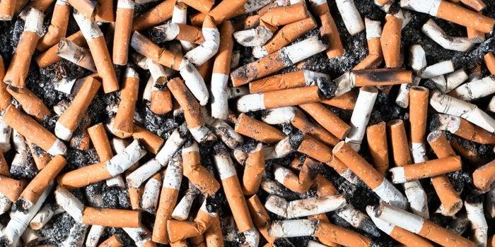 ¿Papel a base de colillas de cigarro?
