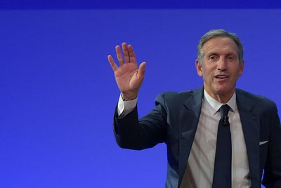 Starbucks's Howard Schultz Steps Away From the Grind and a Baby's Firs...