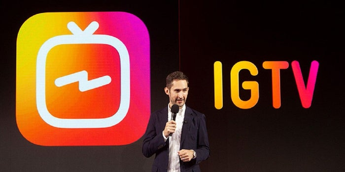 The Video War Heats Up As Instagram Launches IGTV App