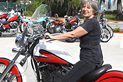 Roaring Reinvention: How a Grandmother Started a Motorcycle Shop
