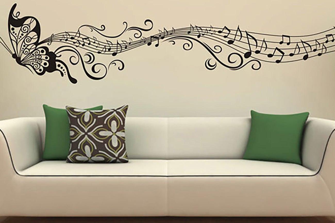 Decorativos blanco vinilos decorativos mariposas de for Vinilos decorativos blancos