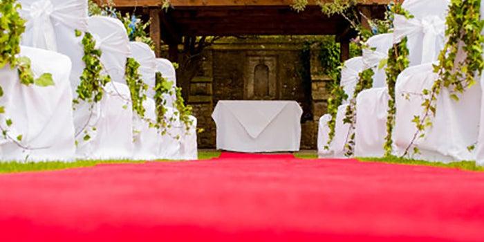 Alfombras personalizadas para bodas